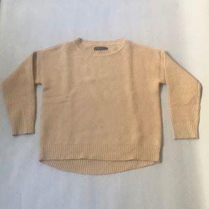 Rag & Bone camel wool sweater. Size small.